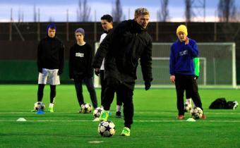Компания «Ангелболл» совместно с Adidas проводят обучение в «Гиганте»