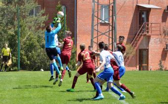 Матч между командами Динамо - Рубин