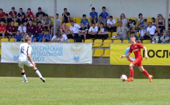 В финальном матче сошлись футболисты академий «Краснодара» и «Спартака».