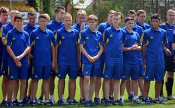 Торжественно открытие Чемпионата России по футболу
