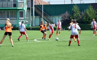 Завершен групповой этап первенства России по футболу среди девочек до 13 лет