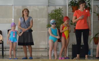 Открытое первенство Крымского района по плаванию