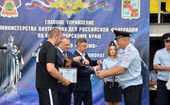 Сборная УМВД России по городу Краснодару выиграла турнир в Крымске