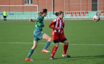 Матч между командами ЖФК «Уфа» - «Академия футбола»