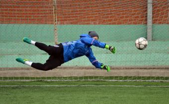Матч «Спарта-Свиблово» - «Академия футбола»