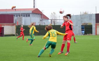 Матч между командами «Звезда-2005» – «Кубаночка».
