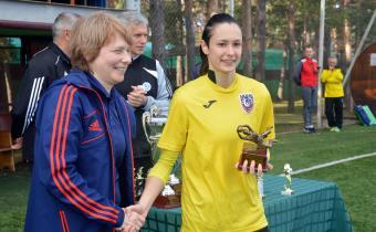 Лучший вратарь: Юлия Серая, «Спарта-Свиблово»