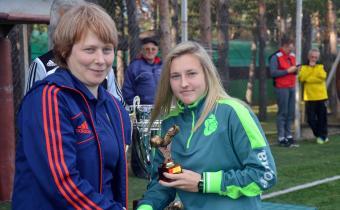 Лучший защитник: Юлия Лайне, «Уфа»