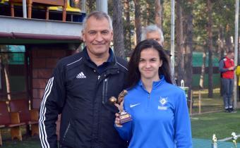 Лучший нападающий: Кристина Черкасова, «Чертаново»