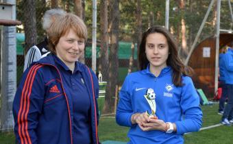 Лучший бомбардир: Кристина Ванькова, «Чертаново»