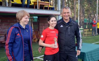 Лучший игрок турнира: Лина Якупова, «Спарта-Свиблово»