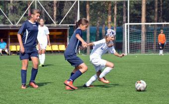 Матч ДЮСША Новосибирска - ДЮСША 11 Самара