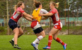 Cбор женской сборной России по регби