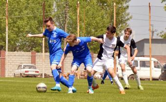 Матч между командами Тюмень - Динамо