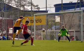 Матч между командами Амкар - Луч-Энергия