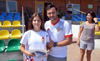 Лучший игрок команд Поздеева Екатерина, Самарская область