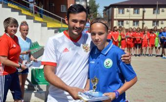 Лучший игрок команд Плешкова Юлия, Московская область