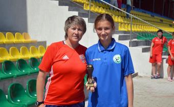 Лучший защитник: Колесникова Алёна,(Московская область)
