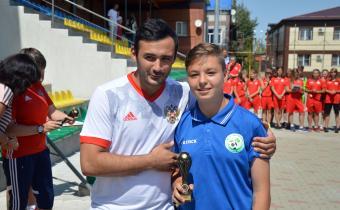 Лучший полузащитник: Павлова Дарья, (Московская область)