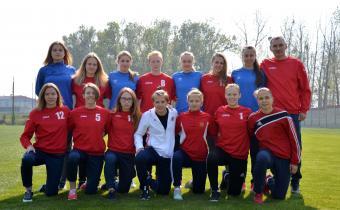 Торжественное открытие финального турнира первенства России по футболу среди женских команд