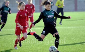 Матчи третьего тура финального турнира первенства России по футболу среди женских команд
