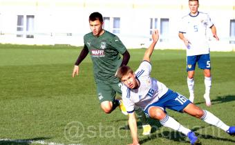 Юношеская сборная России сыграл вничью с «молодёжкой» «Краснодара»