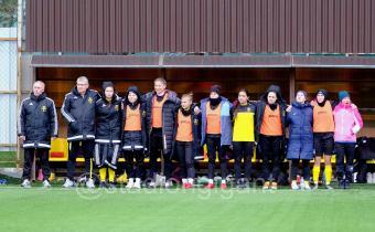 Завершился финальный турнир первенства России по футболу среди женских команд