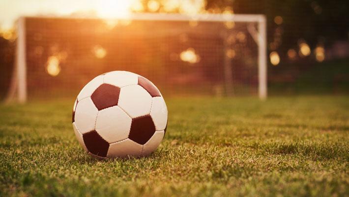Футбольный курьер в спорткомплексе «Гигант»
