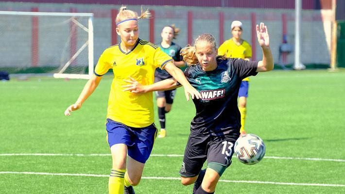 Девушки из «Краснодара» разгромили «Ростов» в матче ЮФЛ