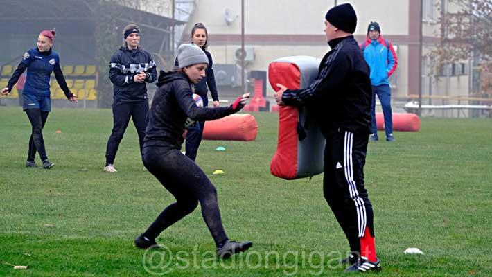 В «Гиганте» проводит сбор молодежная сборная России по регби-7