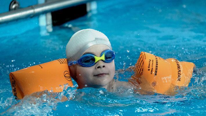 Бассейн «Акваспорт» приглашает на обучение по плаванию!