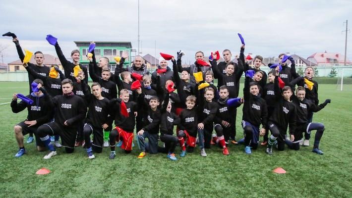 Детский футбольный лагерь по программе Ангелболл
