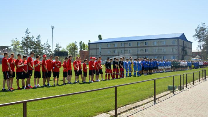 Матчи 1-го тура первенства России по футболу среди спортшкол